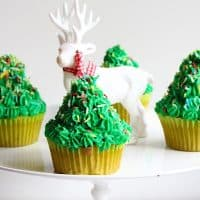 Christmas Tree Cupcakes Low Carb