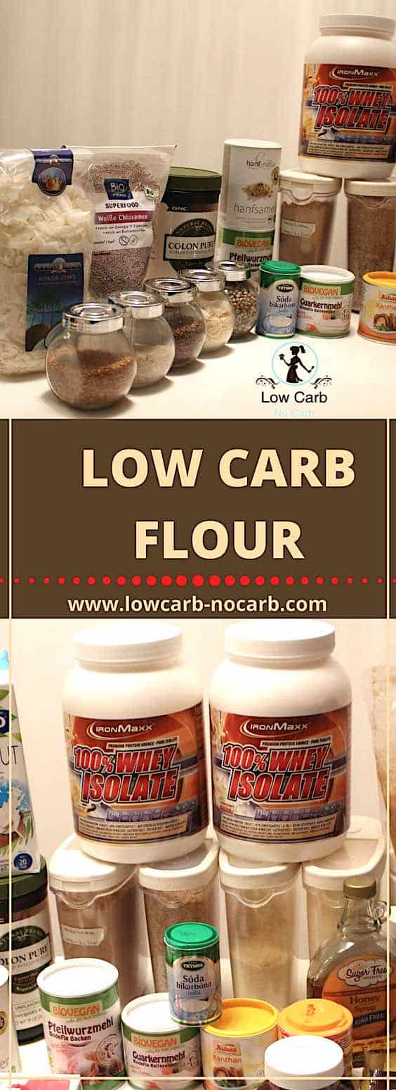 Low Carb Flour #lowcarb #keto #paleo #fitfood #recipe #protein #nuts