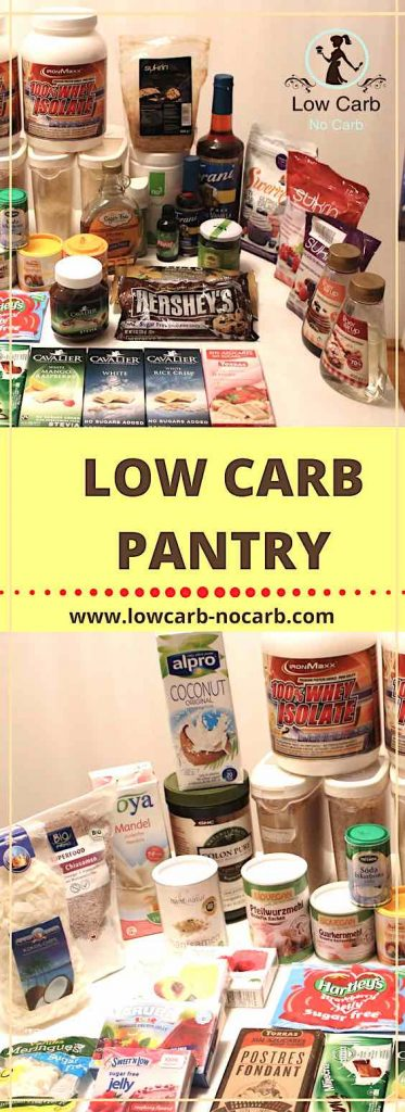 Low Carb pantry #lowcarb #keto #pantry #ketokids #healthyfood