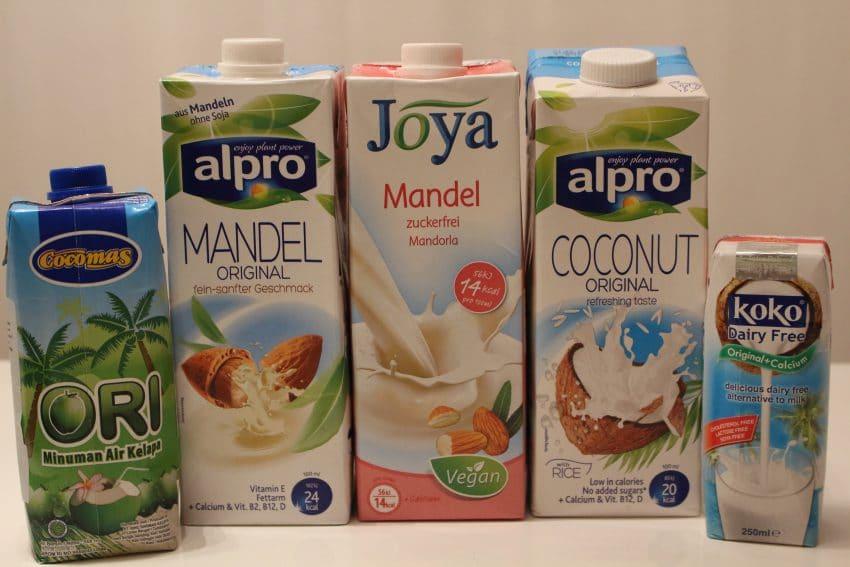 Keto Low Carb Milk alternatives