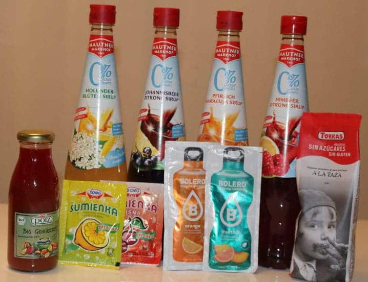 Low Carb Syrups
