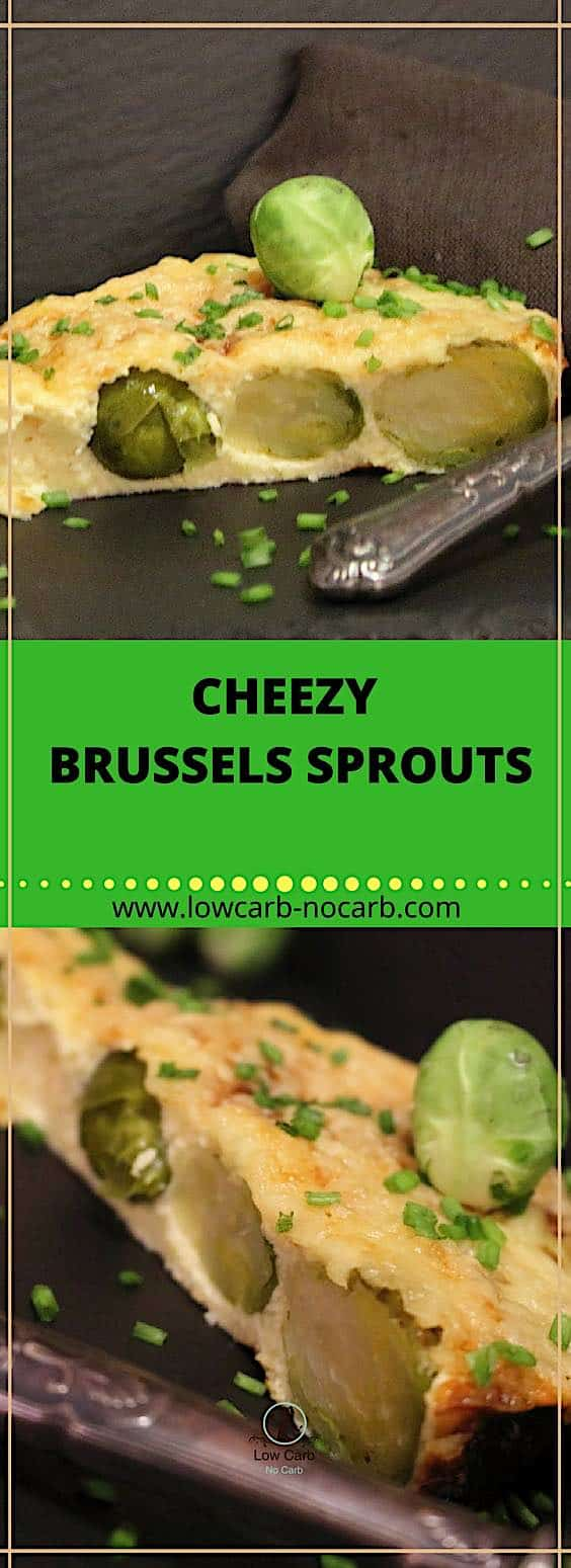 Cheesy Low Carb Brussels Sprouts #brussels #sprouts #lowcarb #keto #paleo #kids #healthyfood #healthyrecipe #recipe #lowcarbblog #ketoblog #eggs #cheese #breakfast #valentines