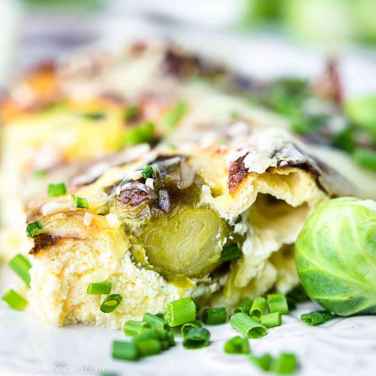 Brussel Sprouts Oven Gratin
