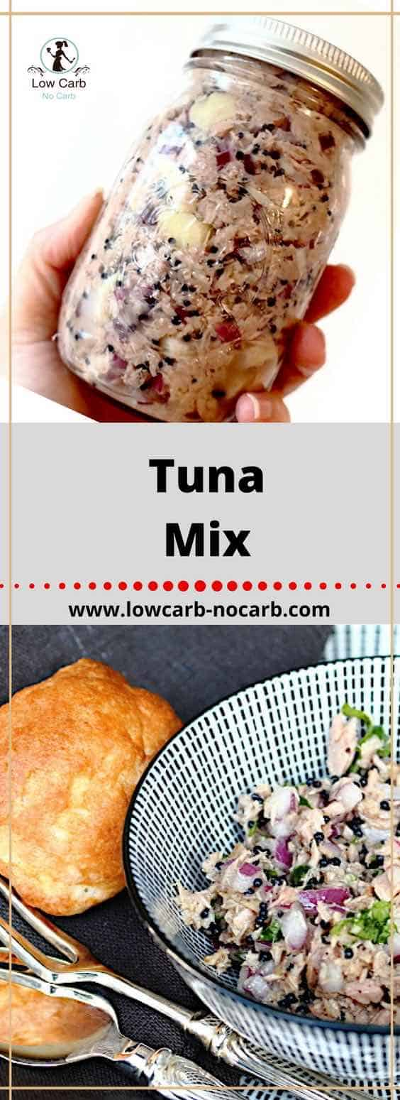 Tuna Mix Ala Sophie #tuna #mix #lowcarb #keto #paleo #healthyfood #diabetes #fitfood #recipe #pinterest #feedfeed #breakfast #snack