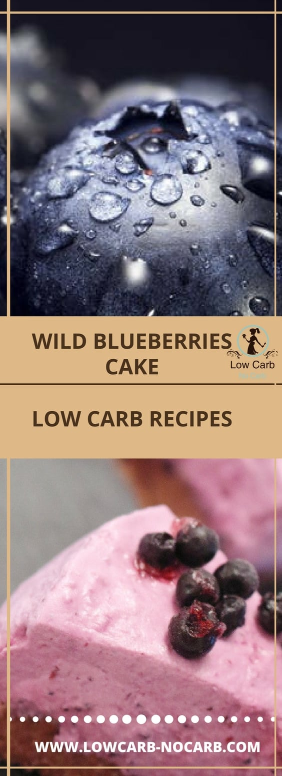 Wild Blueberries Keto Cheesecake #wild #blueberries #keto #cheesecake #lowcarb #paleo #healthy #fitfood #yummy #nobake