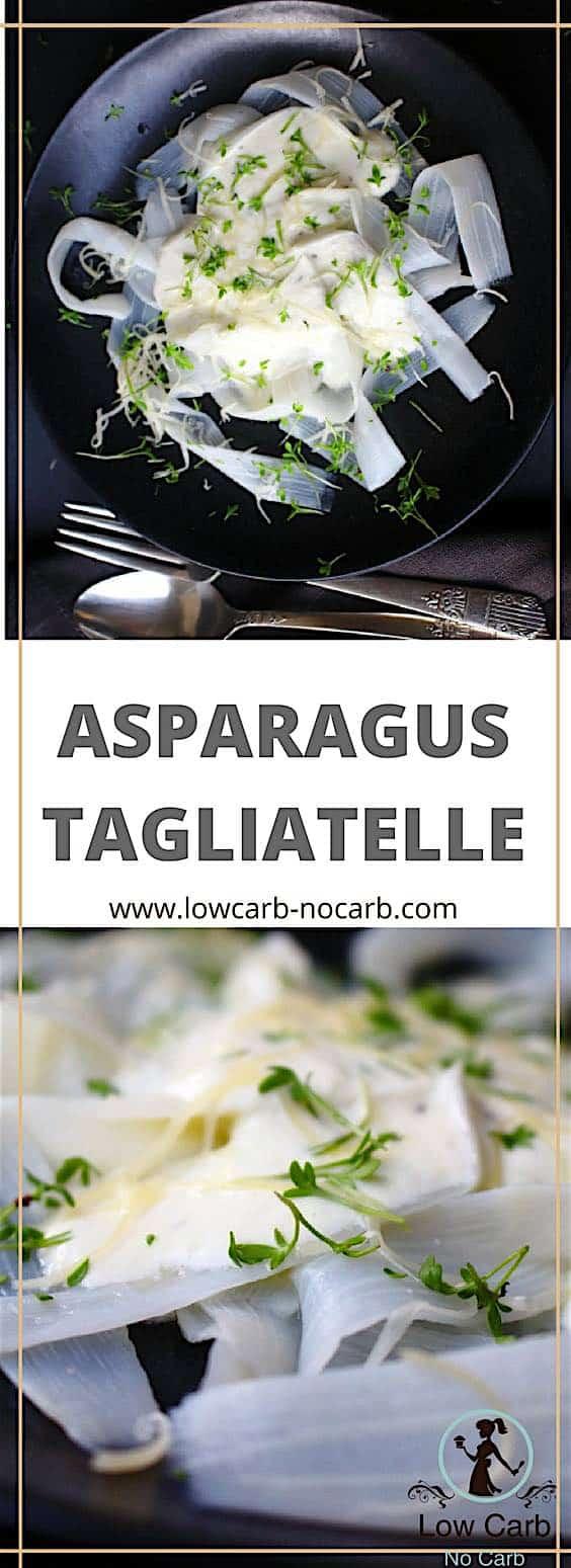 Asparagus tagliatelle #lowcarb #keto #asparagus #tagliatelle #pasta #healthyfood #healthykids #lowcarbrecipe #paleo #diabetes