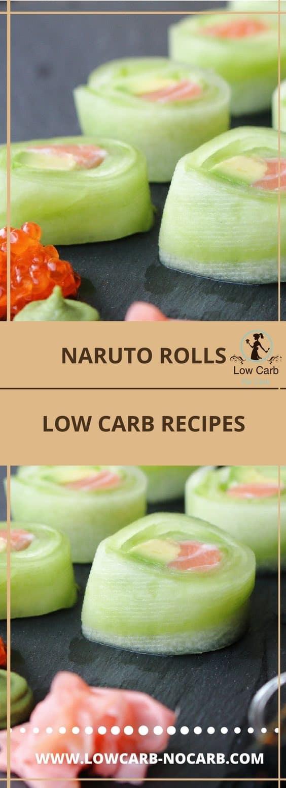 Naruto rolls #narutorolls #cucumberrolls #sashimi #lowcarb #keto #paleo #fitfood #ketokids #diabetes #healthyfood #recipe #foodblog