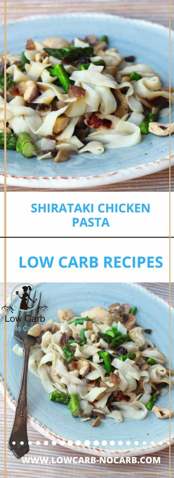 Shirataki Chicken Noodles #shirataki #chicken #noodles #lowcarb #keto #paleo #fitfood #healthyfood foodblog #recipe #recipeblog