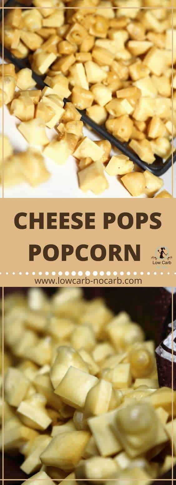 Cheese Pops Low Carb Popcorn The Best Ever Invention