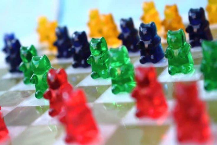 Zuckerfreie Gummibärchen