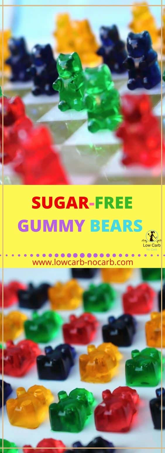 sugar free gummy bears are healthy easy and delicious