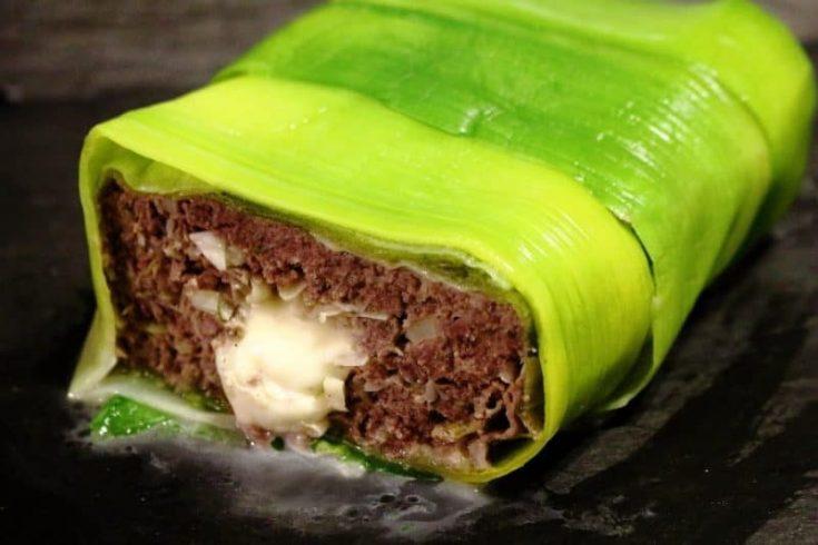 Low Carb Hackbraten mit Käse