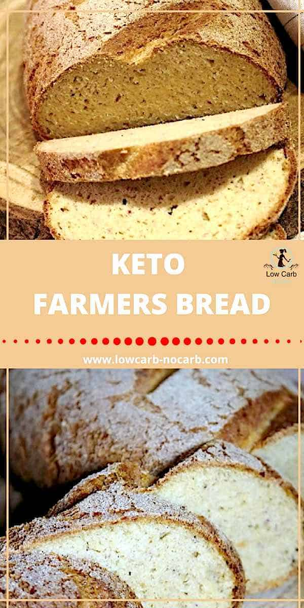 Keto Farmers Bread #keto #farmers #bread #lowcarb #paleo #healthyfppd #fitfood #ketokids #breakfast #snacks #ketobread