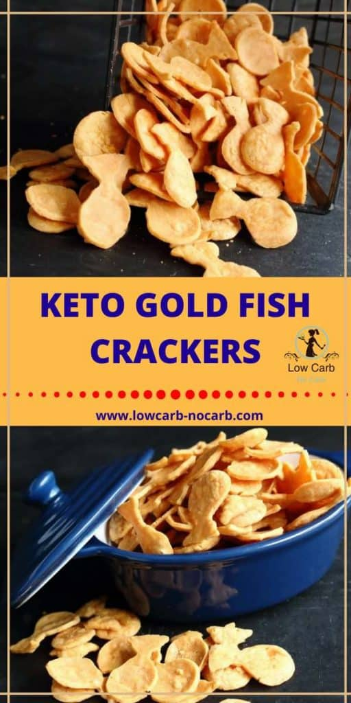 Low Carb Keto Goldfisch Crackers, #lowcarb #keto #goldfish #crackers #cheese #chedarcheese #ketosnacks #lowcarbsnacks #ketokids
