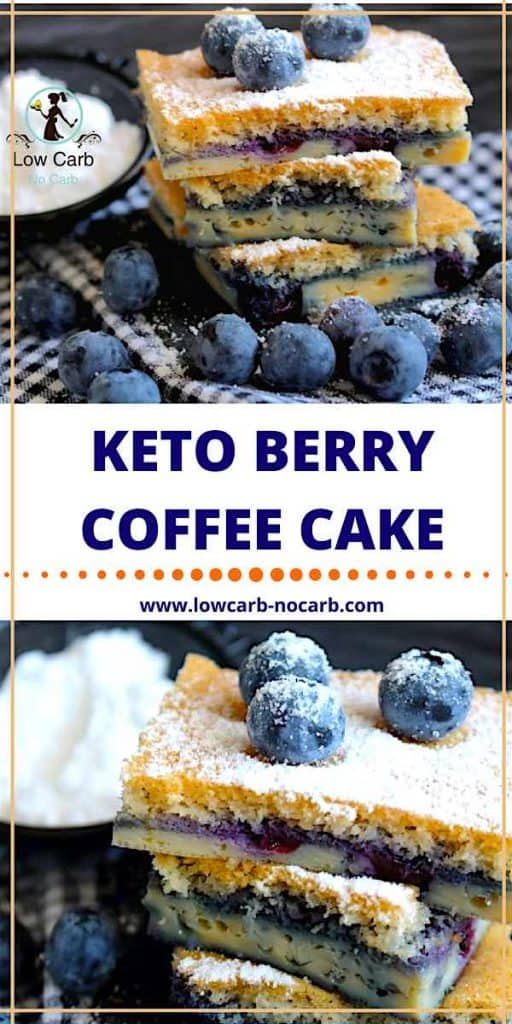 Keto Berry Coffee Cake #keto #berry #coffee #cake #lowcarb #fitfood #healthyfood #ketokids #typeonegrid