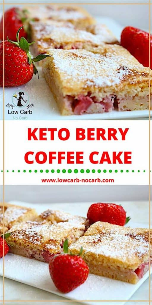 Keto Berry Coffee Cake