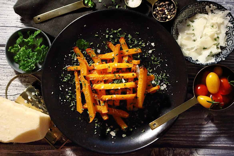 Low Carb Pumpkin Fries