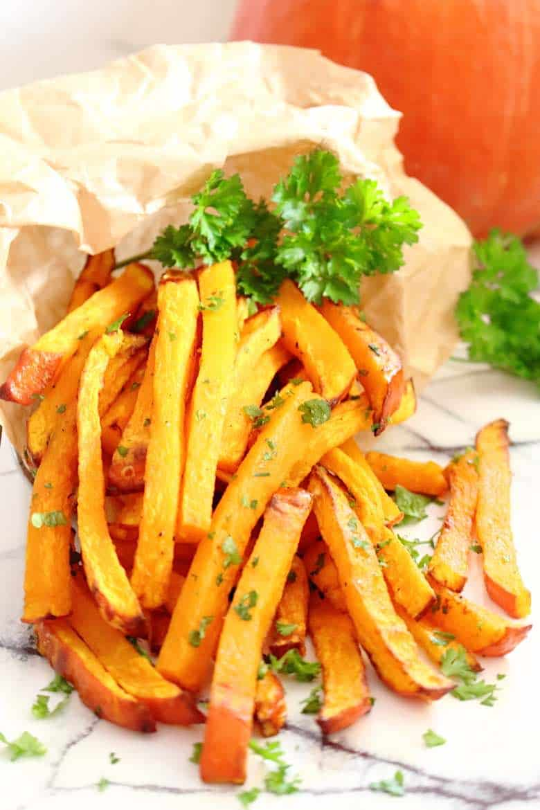 Low Carb Pumpkin Fries