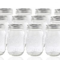 ball mason 12 Jar with Lid-Regular Mouth