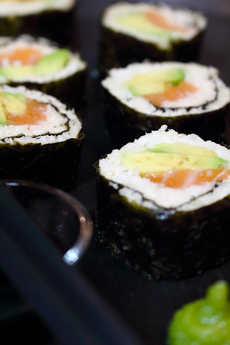 Keto Friendly Sushi Rolls Recipe