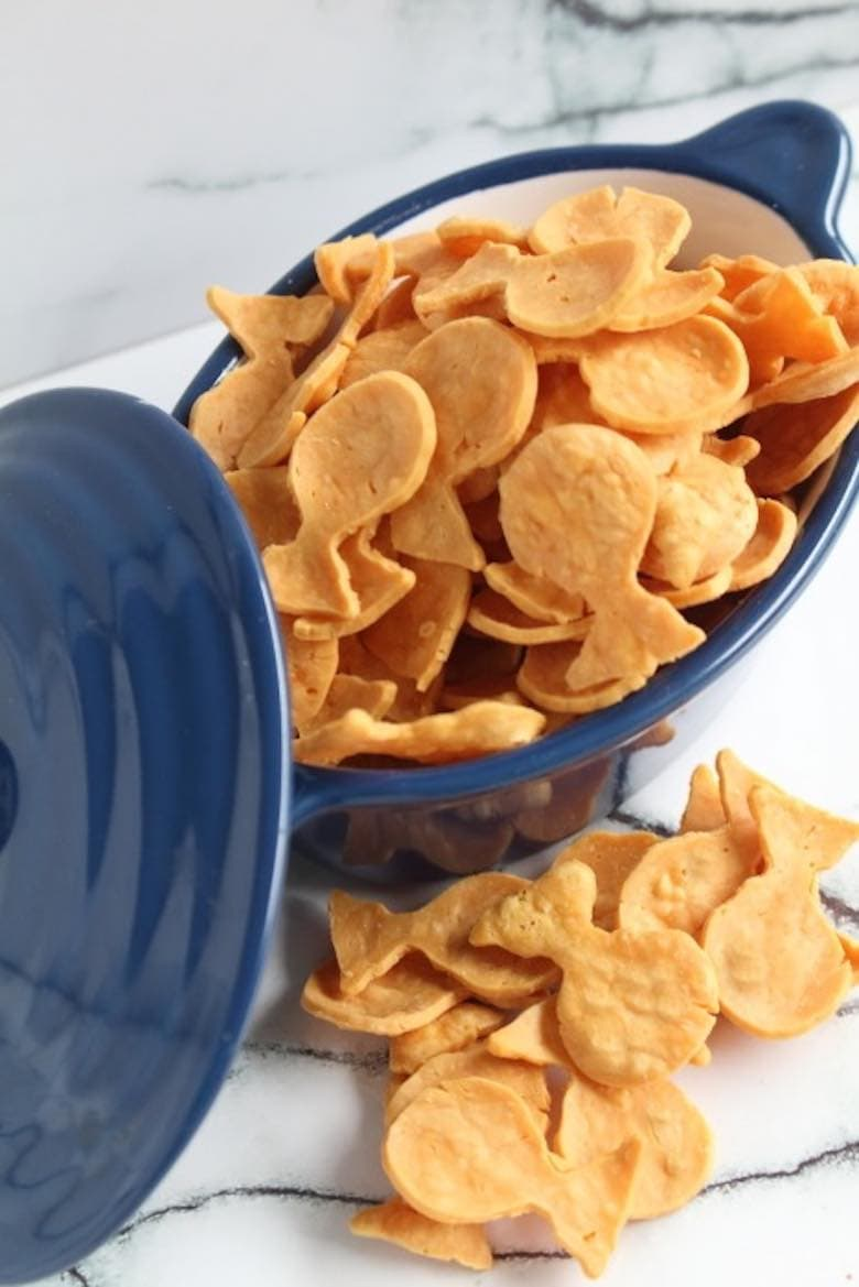 Low Carb Keto Goldfish Crackers