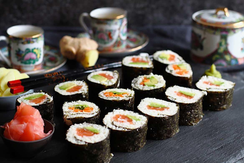 Keto Friendly Sushi Rolls Recipe