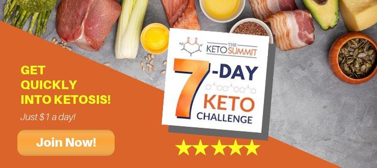 7 Day Keto Meal Plan Challenge to start