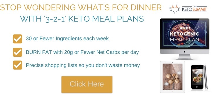 3-2-1 Keto Meal Plans