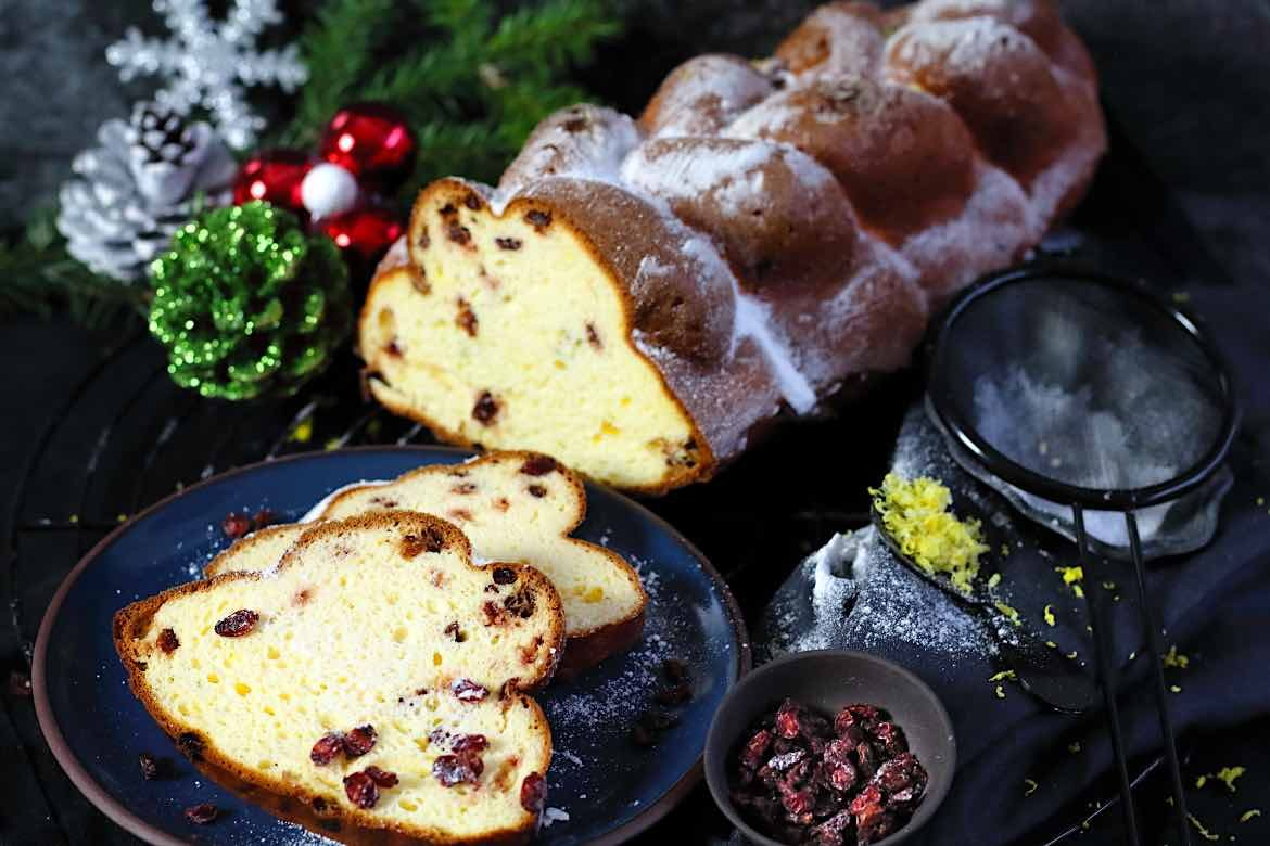 Christmas Challah Bread Low Carb