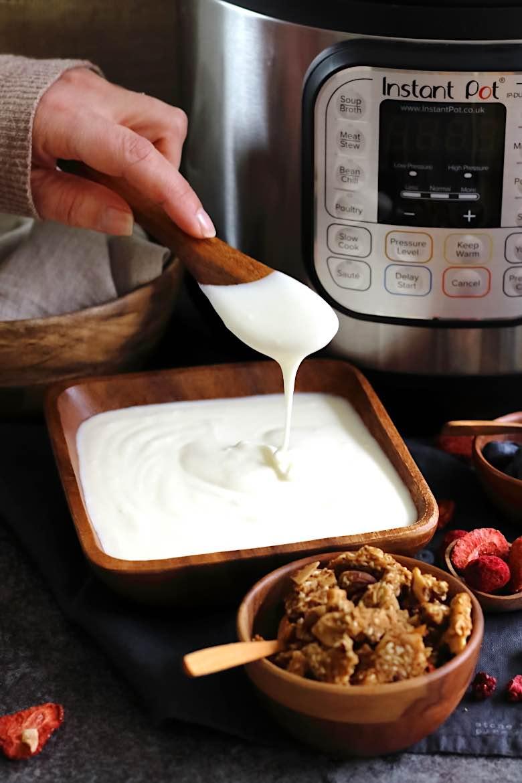 Instant Pot Grécky Jogurt