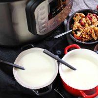 Instant Pot Keto Cold Start Greek Yogurt