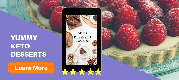 The Keto Desserts Cookbook