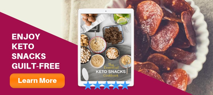 The Essential Keto Snacks Cookbook