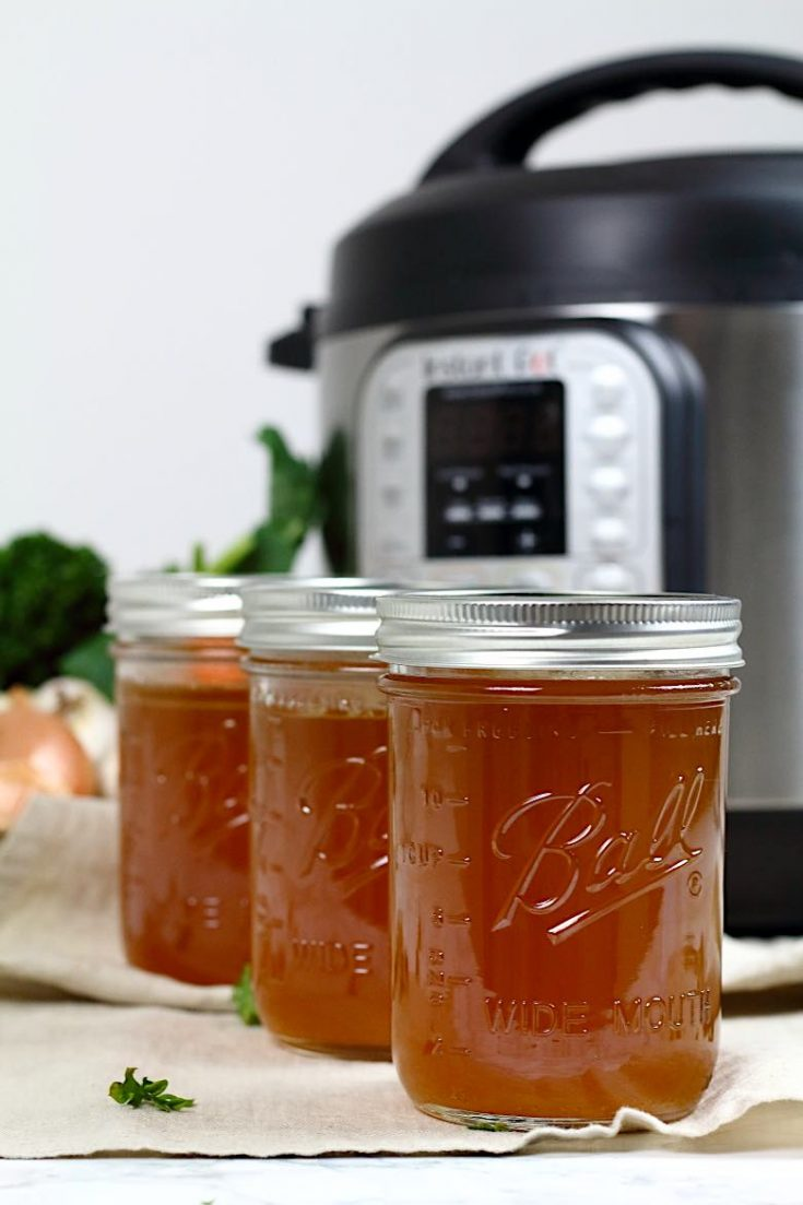 Keto Bone Broth Instant Pot Recipe