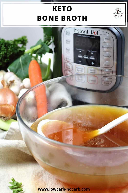 Keto Bone Broth Instant Pot Recipe