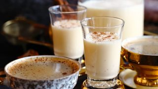 Homemade Almond Milk Keto Eggnog Recipe