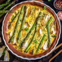 Easy Asparagus Keto Quiche