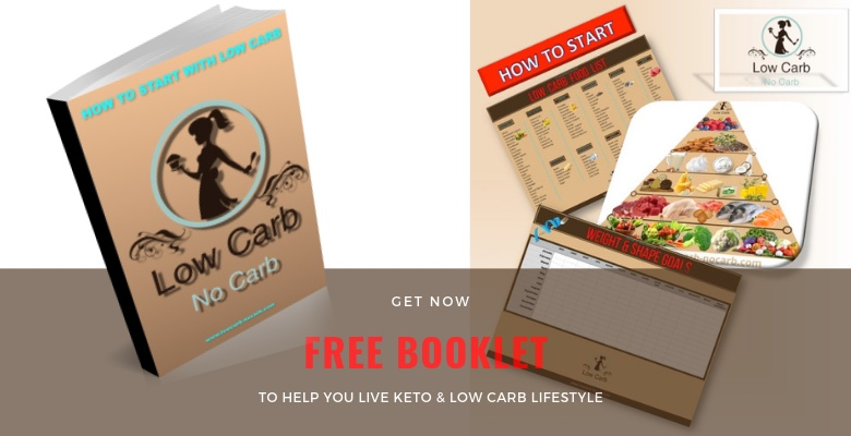 Booklet on How To start with Keto and Low Carb Lifestyle