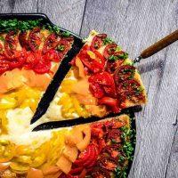Rainbow Keto Pizza Recipe