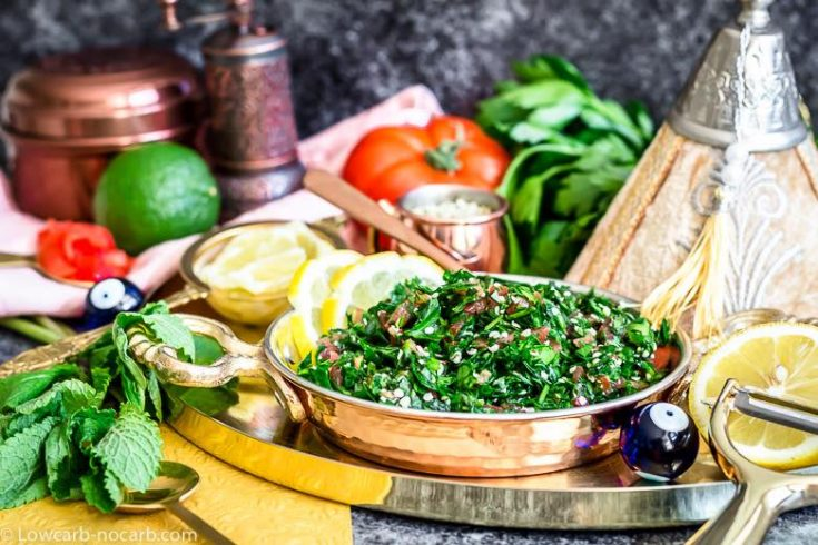 Low Carb Tabbouleh Salad
