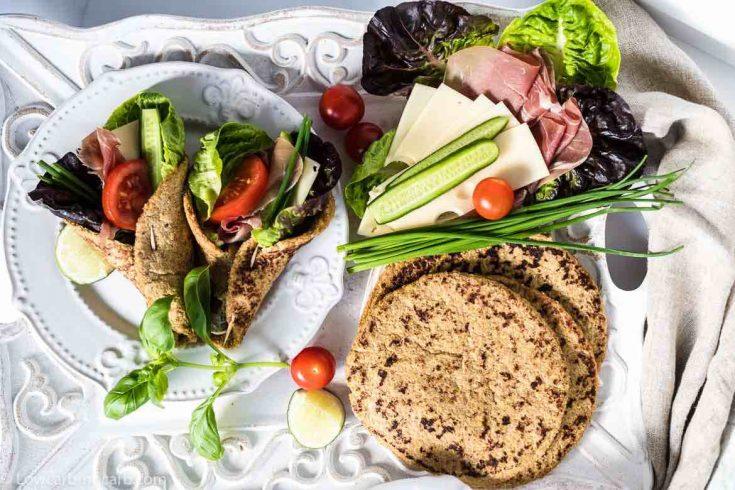 Flaxseed Keto Wraps Recipe