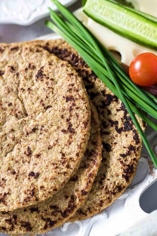 Flaxseed Keto flatbread