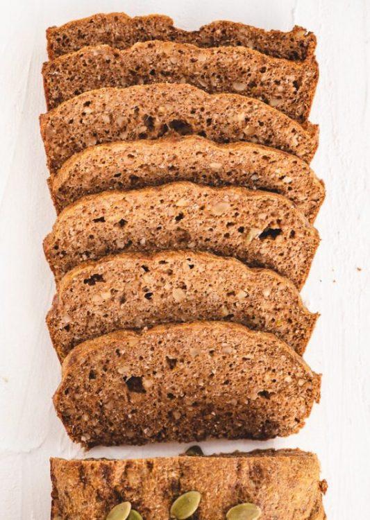 Keto Pumpkin Bread - Psyllium Husk Keto Bread