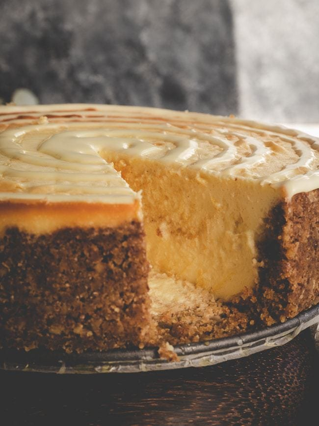 Keto Pumpkin Cheesecake - The Perfect Thanksgiving Dessert