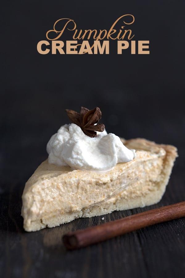 Pumpkin Cream Pie - Keto Recipe