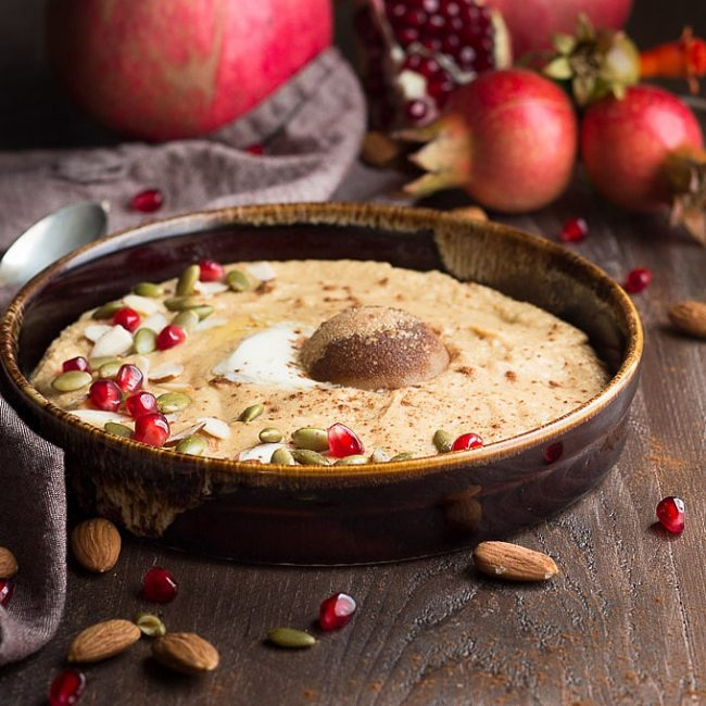 Pumpkin Spice Breakfast Porridge (low carb, keto)
