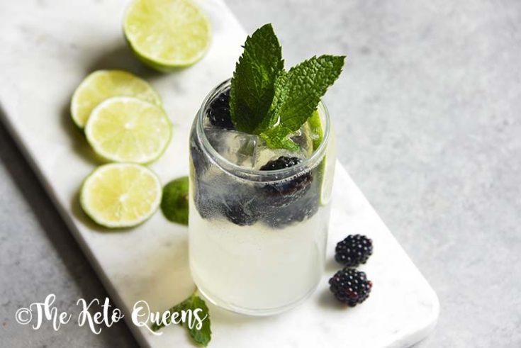 Low Carb Blackberry Mojito Recipe