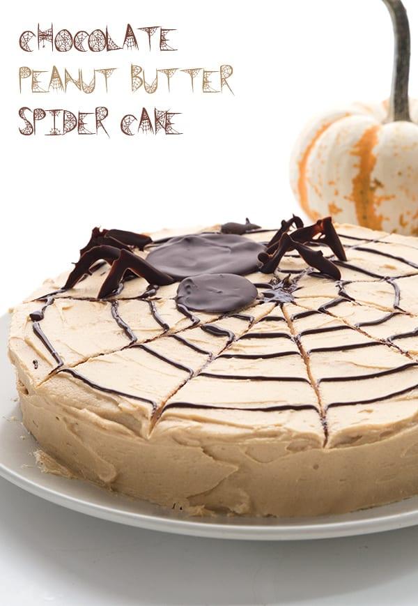 Spider Web Cake - Sugar Free Halloween