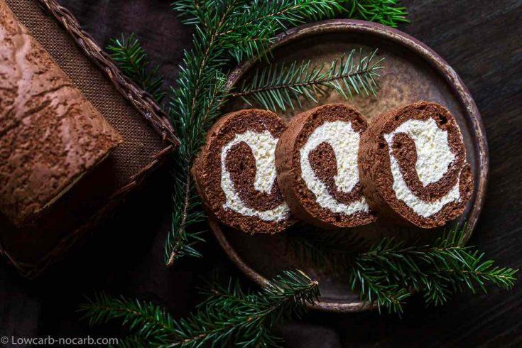Keto Cheesecake Roulade