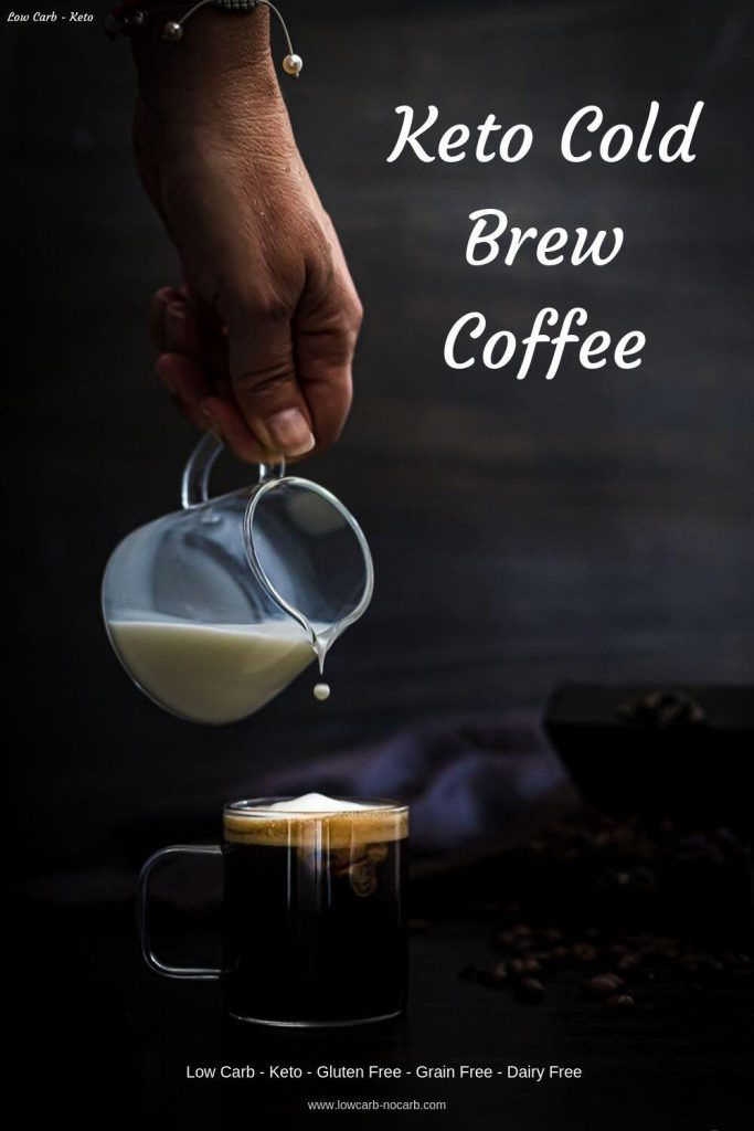 Cold Brew Coffee with Coconut Milk